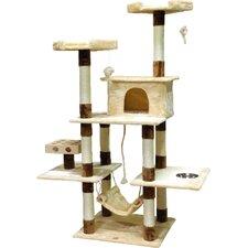 """70"""" IQ Box Cat Tree"""