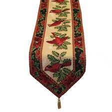 Seasonal Cardinal Table Runner