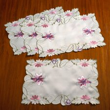 Seville Embroidered Vintage Lace Placemat (Set of 4)