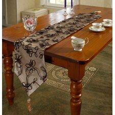 Venetian Vintage Embroidered Floral Table Runner