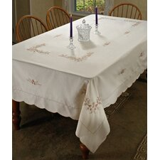 Blossom Embroidered Tablecloth