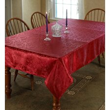 European Floral Tablecloth