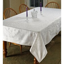 Lisbon Embroidered Vintage Tablecloth