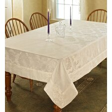 Vintage Damask Tablecloth