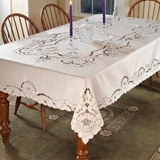 Sapphire Embroidered Tablecloth