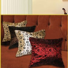 Silky Bombay Design Pillow Cover