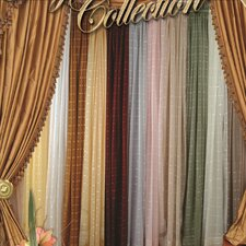 Royal Plaid  Single Curtain Panel