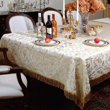 Luxury Damask Tablecloth