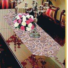 Classic Damask Design Table Runner