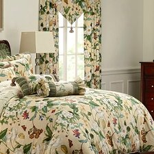 Colonial Williamsburg Garden Image Curtain Panel (Set of 2)