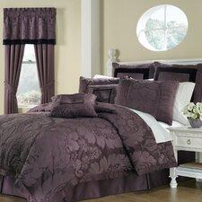 Lorenzo 8 Piece Comforter Set in Purple