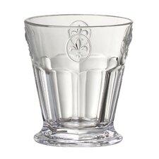 Fleur De Lis 8 Oz. Double Old Fashioned Glass (Set of 6)