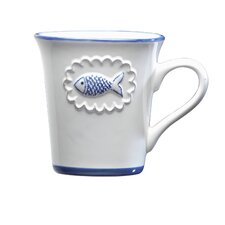 San Remo Ceramic 12 Oz. Mug (Set of 4)