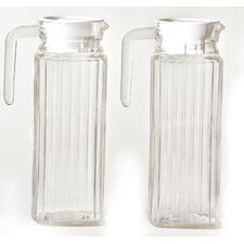 Refrigerator 2 Piece Pitcher Set (Set of 2)