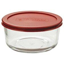 4-Cup Round Kitchen Storage Container (Set of 4)