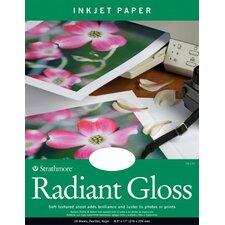 Radiant Gloss Inkjet Papers (Set of 20)