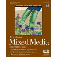 400 Series Mixed Media Pad (Set of 12)