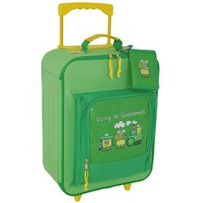 """Going to Grandma's 15.5"""" Children's Rolling Upright Suitcase"""