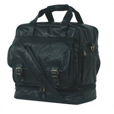 "Highland II Series 15"" Leather Carry-On Duffel"