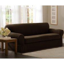 Pixel Stretch 2 Piece Sofa Slipcover