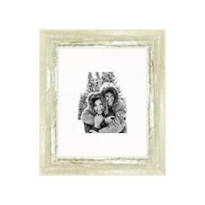 """16"""" x 20"""" Frame in Ivory and Moss Silver"""