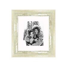 """20"""" x 24"""" Frame in Ivory and Moss Silver"""