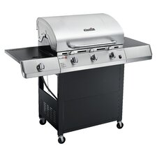 Performance 3 Burner TRU-Infrared Gas Grill with Side Burner
