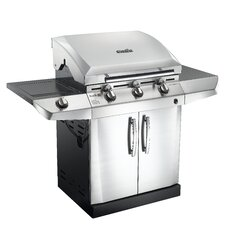 Performance TRU-Infrared Gas Grill with 3 Burners and Sideburner