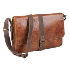 Caleb Single Buckle Messenger Bag