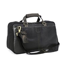 "Hendrix 19"" Leather Weekender Duffel"