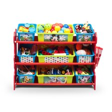 Mickey Mouse 10 Piece Toy Organizer Set