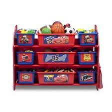 Cars 10 Piece Toy Organizer Set