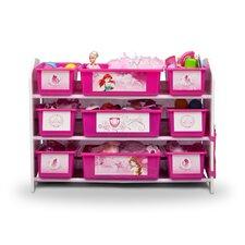 Princess 10 Piece Toy Organizer Set