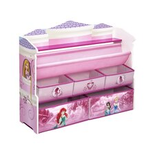 Disney Princess Deluxe Book & Toy Organizer