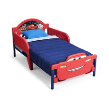 Disney Cars 3D Toddler Bed