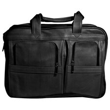 Vaqueta Napa Contemporary Leather Laptop Briefcase