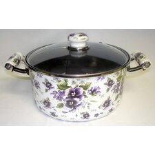 Enamel Kitchenware Soup Pot with Lid
