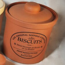 Terracotta Large Biscuit Canister