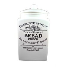 Charlotte Watson 120-Ounce Bread Crock