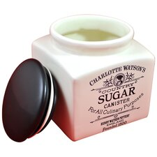 Charlotte Watson 32-Ounce Sugar Canister