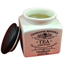 Charlotte Watson 32-Ounce Tea Canister