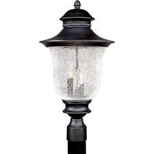 Outdoor 3 Light Cast Aluminum Post Lantern