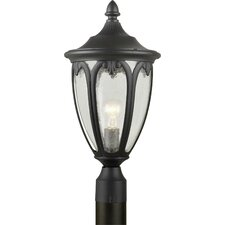 Outdoor 1 Light  Cast Aluminum Post Lantern