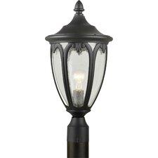 Outdoor 1 Light  Cast Aluminum Post Lantern