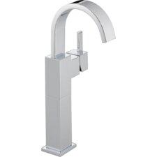 Vero Single Hole Vessel Bathroom Faucet with Riser