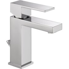 Ara Single Handle Centerset Lavatory Faucet with Drain
