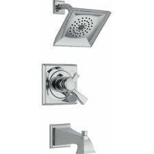 Dryden Diverter Tub and Shower Faucet Trim with Lever Handles