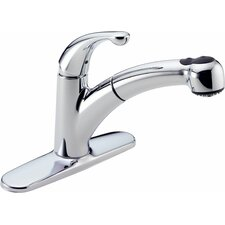 Palo Single Handle Centerset Kitchen Faucet with TouchClean Technology