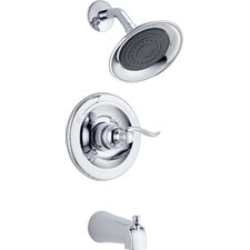 Foundations Windemere Thermostatic Tub and Shower Faucet Trim with Lever Handle