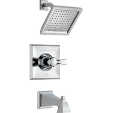 Dryden Monitor Pressure Balance Tub and Shower Faucet Trim with Lever Handles